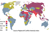 Maplecroft Conflict Intensity Index