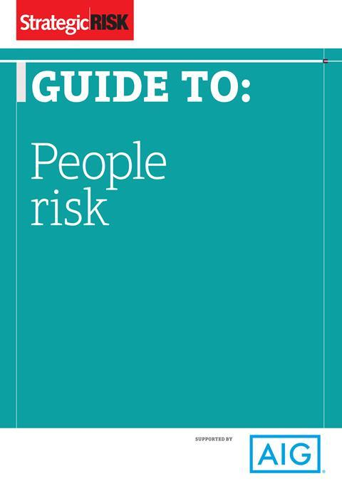 People risk for the web 1